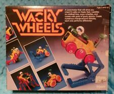 Wacky Wheels Vintage Toy -  Tomy 1984
