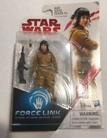 😁 STAR WARS THE LAST JEDI - ROSE - RESISTANCE TECH - NEW FORCE LINK  3.75 INCH
