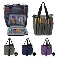 DIY Knitting Bag Portable Yarn Tote Wool Crochet Storage Bag Household Organizer