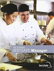Servsafe Manager Book English 7th Edition NEW, book with Exam Code