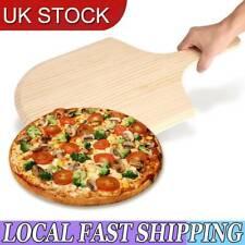 "14"" Overall Large Pizza Peel Paddle Shovel Cake Baker Oven Baking Pancake Tray"