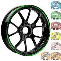 "17""/18"" Reflective Motorcycle Rim Stripes Wheel Decals Tape For Kawasaki Z300"