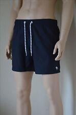 Abercrombie & Fitch Classic Board Shorts de baño Kite Azul Marino Cordón XL