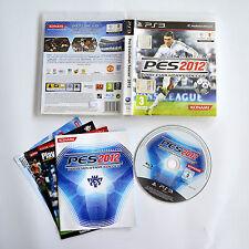 [ PS3 ] Pro Evolution Soccer 2012 Pes 2012 Usato con Manuale Buono
