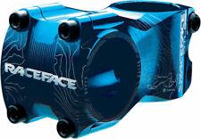 "RaceFace Atlas Stem - 50mm 31.8 Clamp +/-0 1 1/8"" Aluminum Blue"