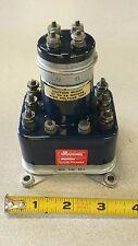 Cutler-Hammer 6042H144 Relay 25A 3PST Class B8 28VDC 115/200VAC 400CY