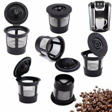 6PCS Reusable Refillable K-Cup Coffee Filter Pod For Keurig K45&K65 Coffee  !