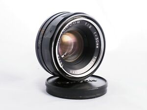 Topcon Topcor 50 mm f/2 UV lens