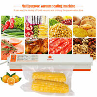 Vacuum Sealer Machine & Embossed Seal Bag Rolls Foodsaver Commercial Food Saver