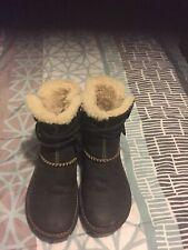 Ugg Women Black Boot 5136 Winter Fall.size 7