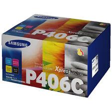 Samsung CLT-P406C Original Toner Schwarz / Cyan / Magenta / Gelb - alle Farben