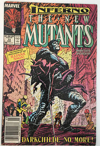The New Mutants #73 (March 1989, Marvel) Inferno
