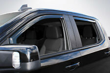 In-Channel Vent Visors for 2019 Chevy Silverado 1500 Crew Cab