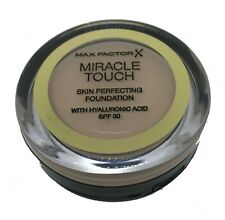 Max Factor Miracle Touch Skin Perfecting Foundation - Creamy Ivory 040 - NEW