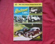 1974 Restored Cars Magazine Australia Issue no. 7, Model A Ford Morris Vauxhall