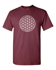 TREE OF LIFE Kabbalah cosmology  Mysticism  Sacred Geometry Men's Tee Shirt 1613