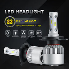 H4 Motorcycle CSP LED Headlight Hi/Lo Beam Front Light Bulbs Lamp 6K Conversion