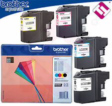 PACK TINTA ORIGINAL LC223 PARA IMPRESORA MFC J480DW CARTUCHO BROTHER 4 COLORES