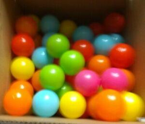 100pcs5.5cm Fun Soft Plastic Ocean Ball Swim Pit Toys Baby Kids Toys BULK NEW R4