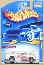 HOT WHEELS 2001  SHOE BOX #117 WHITE