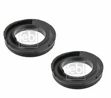 2x Rear Coil Spring Rubber Mount for Mercedes C, CLC, CLK, E, GLK, SLK   FEBI