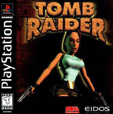 Tomb Raider - PS1 PS2 Playstation Game