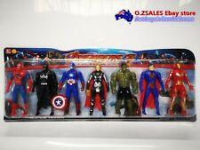 AVENGERS SET HULK, THOR, IRONMAN, CAPTAIN AMERICA, SPIDERMAN BATMAN vs SUPERMAN