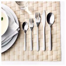 Ikea Fornuft 20 Pc Piece Flatware Silverware Tableware Set Spoon Fork Knife