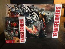 SDCC Hasbro Exclusive Dinobots Set With Pop Up Headquarters with Slog figure