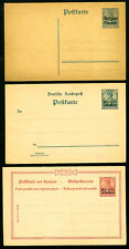 Germany Colonies lot of 4 Postal Cards