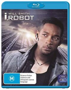 I Robot Blu-ray Disc Is In Very Good Condition Ex- Rental