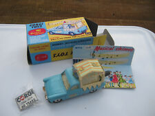 CORGI 474  WALLS ICE CREAM  ORIGINAL LIGHTLY MARKED VAN WORKING CHIMES REPRO BOX