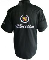 CADILLAC - SHIRT-CHEMISE CADILLAC  RACING TEAM  ALL LOGO IN BRODERY