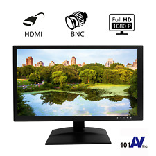 """1080P HD 19.5"""" Security Monitor with 3D Comb-Filter with more beautiful picture"""
