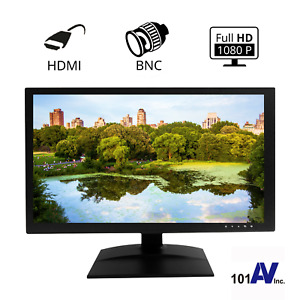 """1080P HD 19.5"""" Security Monitor with 3D Comb-Filter Direct Connect to Cameras"""