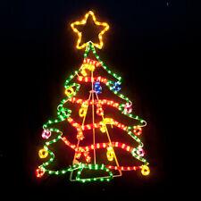 Christmas Tree Motif Rope Light Large 118cm Height