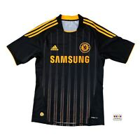 Chelsea 2010/11 Away Soccer Jersey Small Adidas EPL