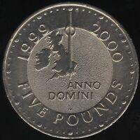 1999 Elizabeth II Five Pounds Coin | British Coins | Pennies2Pounds