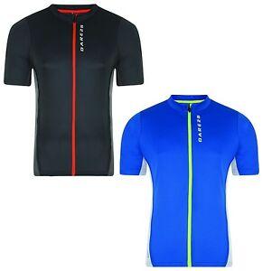 Dare 2b Mens Come Back II Cycle Cycling Full Zip Jersey Top T Shirt XS-XXL