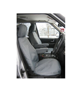 Land Rover Discovery 4 Waterproof Seat Covers Pair Grey EXT018-30GRY RRP £120