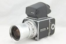 Hasselblad 500 CM C/M Medium Format Camera w/ 50mm Lens & A-16 Back. Good Cond.
