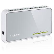 TP-LINK TL-SF1008D Netzwerk Verteiler 10/100 Switch 8 Port HUB LAN DSL DHL Paket
