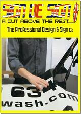 Custom Self Adhesive Sign Lettering Any Size or Color NO Job too big or small