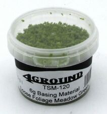 4Ground TSM-120 Meadow Green Loose Foliage (6g) Basing Material Plant Texture