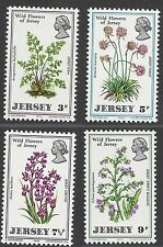 JERSEY 1972 WILDFLOWERS (4), Mint Hinged SG 69-72