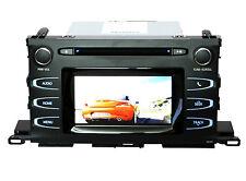 "OEM Toyota Highlander CD Player Radio 6"" Touchscreen Bluetooth Backup Camera 15"