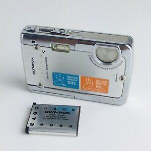 Olympus Stylus 720 SW 7.1MP Ultra Slim HD Digital Camera Waterproof