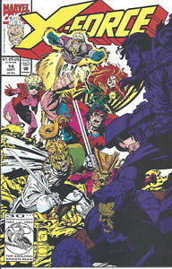 X-Force #14 (Sept 92) - Cable, Domino, Weapon X, Rictor joins team - Very Fine