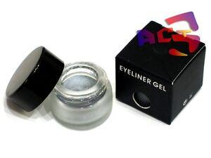 Long Lasting Waterproof Gel Eyeliner - Silver Shimmer Eye Liner