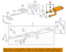Lexus TOYOTA OEM 07-17 LS460 4.6L-V8 Exhaust-Rear Pipe 1743038560